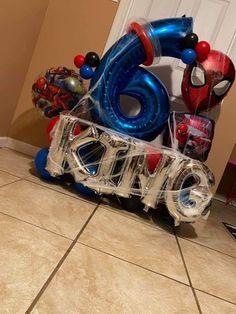 Balloon Columns, Balloon Arch, Balloon Garland, Balloon Arrangements, Balloon Centerpieces, Birthday Balloon Decorations, Birthday Balloons, Superhero Balloons, Balloon Bouquet Delivery