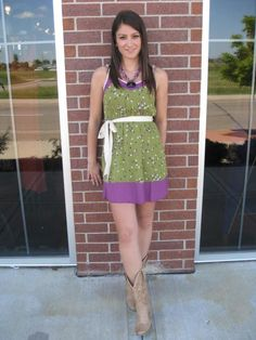 Another great dress from Mainstream Boutique!