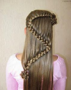 galera de peinados de nia para primera comunin o bodas ideas y material gratis