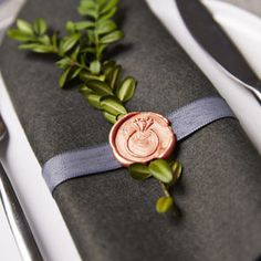 Wedding Ring Wax Seal Stamp - office & study