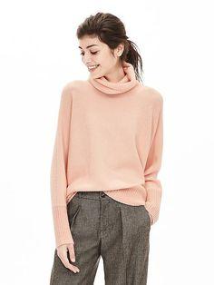 Oversized Turtleneck Sweater Pullover | Banana Republic