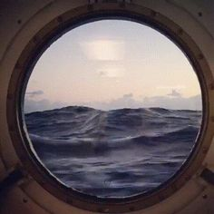 Post with 3575 votes and 165768 views. Tagged with awesome, ocean, inspiring, porthole, staff picks; Sea Photo, Gifs, Board, Funny, Ha Ha, Gifts, Sign, Planks, Hilarious