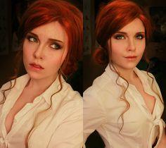 Triss Merigold cosplay (Witcher 3)