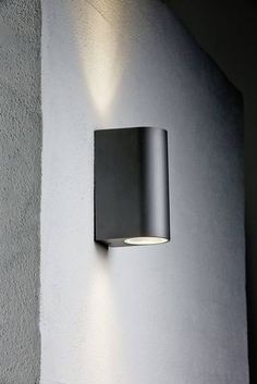 Buitenwandlamp GU10 70 W Nordlux Canto Maxi 77561003 Zwart