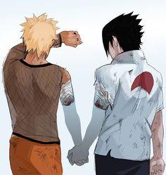 Naruto and Sasuke Death Valley - Final Battle