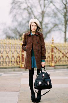 Vanessa Jackman: London Fashion Week AW 2012....Ella