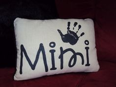 Personalized Painted Pillow