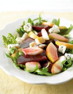 Rote-Bete-Birnen-Salat