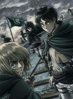 Shingeki no Kyojin || L'attacco dei giganti || Attack on Titan || Eren || Mikasa || Armin