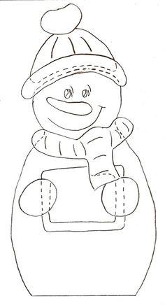 Hóemberek Kreatív Mánia | Kézműves blog Christmas Colors, Christmas Crafts, Felt Crafts, Paper Crafts, Christmas Templates, Little People, Winter Season, Hand Embroidery, Smurfs