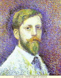 Georges Lemmen. Self-Portrait.