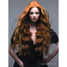 2007 redhead long hairstyle ❤ liked on Polyvore featuring emma underwood
