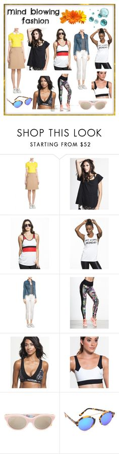 """""""Mind Blowing Fashion"""" by cate-jennifer ❤ liked on Polyvore featuring Carven, LnA, Splits59, Private Party, Bodyism, Koral, Lucas Hugh, RetroSuperFuture, Illesteva and vintage"""