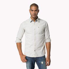 Hilfiger Denim Adrian Streifen Hemd - graphite-pt (Blau) - Hilfiger Denim Casual Hemden - Hauptbild