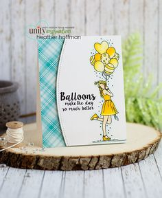 Houses Built of Cards: Balloons Make the Day Better