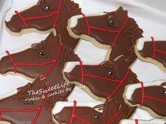 Horse cookies by TheSweetLife cakes & cookies by Julie