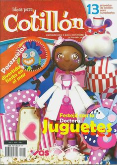 Ideas para cotillon Dra. juguetes