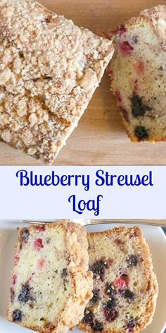 Blueberry Streusel Loaf, an easy cake type sweet loaf, filled with blueberries and topped with a crunchy buttery crumb topping,breakfast,snack or anytime.