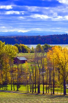 Vermont, Grand Isle on Lake Champlain/ This is where I live in the Lake Champlain Islands