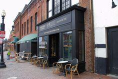 Georgetown, Washington DC, cafe