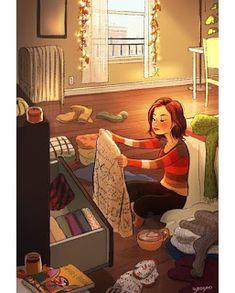 Character Design~ Yaoyao Ma Van As Digital illustration Joy Of Living, Living Alone, Alone Art, Anime Art Girl, Cartoon Art, Digital Illustration, Cute Art, Character Art, Art Drawings