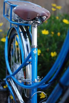 A darling detail on Muse Cycles' Mezzaluna Mixte. (Another wonderful benefit of buying a hand-built bike).