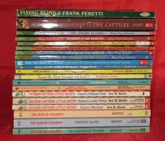 Childrens Paperback Lot of 20 Books Magic Tree House Boxcar Children Babysitters