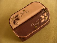 Leather Wallet Woman Wallet Clutch Pink by sukriyeozcandesigns