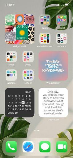 iphone homescreen layout