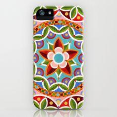 Circus Mandala iPhone Case by Patricia Shea Designs