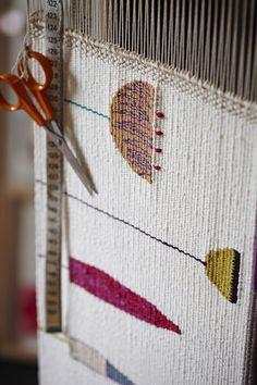 Resultado de imagen de weaving ends in tapestries