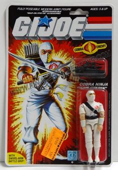Original Storm Shadow action figure in package