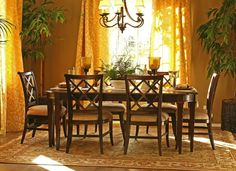 tuscan dining room decorating ideas - Google Search