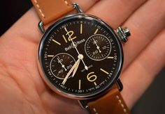 The Bell & Ross WWI Monopusher Chronograph.