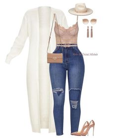 The CristalMichele look! This is my favorite look to create and personally wear! My signature look! Cute Swag Outfits, Classy Outfits, Stylish Outfits, Look Fashion, Teen Fashion, Autumn Fashion, Fashion Outfits, Classic Fashion, Fashion Clothes