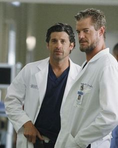 Derek & Mark! AKA McSteamy and McDreamy hehe