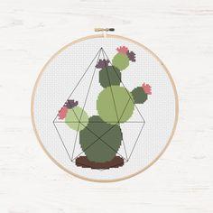 Instant Download PDF Cacti Cactus Pattern Succulent от Stitchonomy