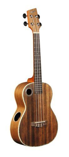 Riptide UT-11NS Solid Top Acacia Tenor Ukulele by Riptide. $228.41. The Riptide UT-11NS features a solid Acacia top and laminated Acacia back and sides. Acacia is a close relative to the traditional Koa wood used to make many of the early Island ukuleles. It has the similar beauty and tone of traditional Koa. The satin finish is highlighted with Abalone binding around the soundboard and is accented with a creme binding. A Rosewood fingerboard is mounted over the Mahogan...