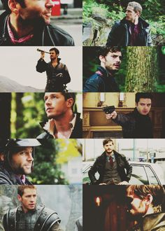 Once Upon A Time & hot men... I still miss the hunter :(