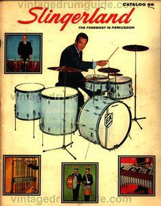 Slingerland drum catalog cover 1967