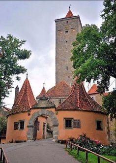 Ротенбург на Таубере — путешествие в средневековую Германию