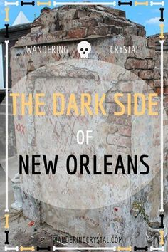 Dark Travel in New Orleans, things to do in New Orleans, Spooky things to do in New Orleans, ghost tours in the French Quarter, things to do in the french quarter New Orleans, French Quarter history, tours in New Orleans, cemeteries in New Orleans, Voodoo history in New Orleans, Marie Laveau's House of Voodoo, Voodoo Queen of New Orleans, things to do in NOLA, wanderingcrystal, haunted places to visit in New Orleans, vampires in New Orleans, St Louis Cemetery No 1 #NewOrleans #DarkTravel #USA
