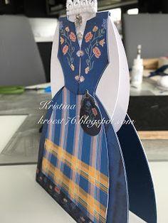 Kristinas kortblogg: Bunadskort - tips og råd Diy And Crafts, Paper Crafts, Big Shot, Cardmaking, Hobby, Envelopes, Tips, Card Ideas, Cards