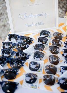 Gifts for beach wedding - Omaggi ospiti matrimonio in spiaggia