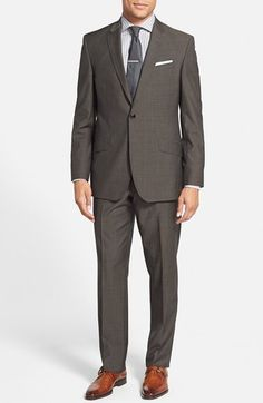 Ted+Baker+London+'Jones'+Trim+Fit+Wool+Suit+(Online+Only)+available+at+#Nordstrom