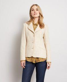 Carlton Jacket in Oatmeal