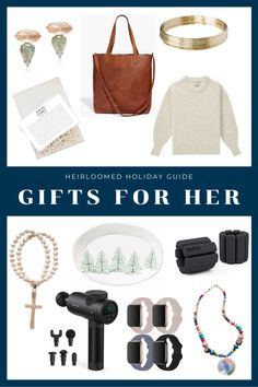 Holiday Gift Guide, Holiday Fun, Holiday Gifts, Meaningful Gifts, Gifts For Her, Xmas Gifts