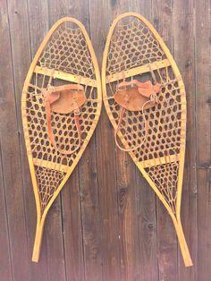 Vintage Canadian Snowshoes