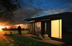 The Karo Cabin by Karoleena Homes of Calgary is the builder's first move into prefab modular housing. It's factory-built and can be moved anywhere in North American that's accessible by road.