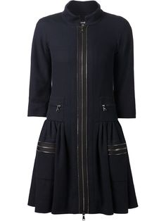 Chanel Vintage Flared Coat - Decades - Farfetch.com